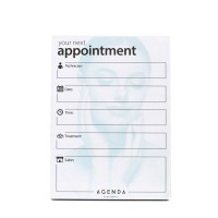 Agenda Appointment Cards - Technician - Blue/White