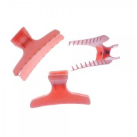 Hair Tools Butterfly Clamps Large Pink