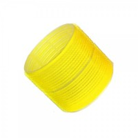 Hair Tools Cling Rollers - Jumbo Yellow 66mm