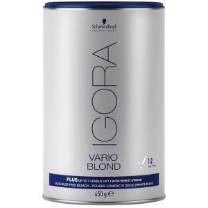 Schwarzkopf Igora Vario Blond Plus Dust Free Bleach Blue 450g