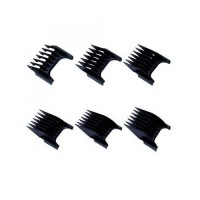 Wahl Black Attachment Combs (6 Piece Set)