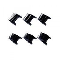 Wahl Black Attachment Combs (6 Piece Set)